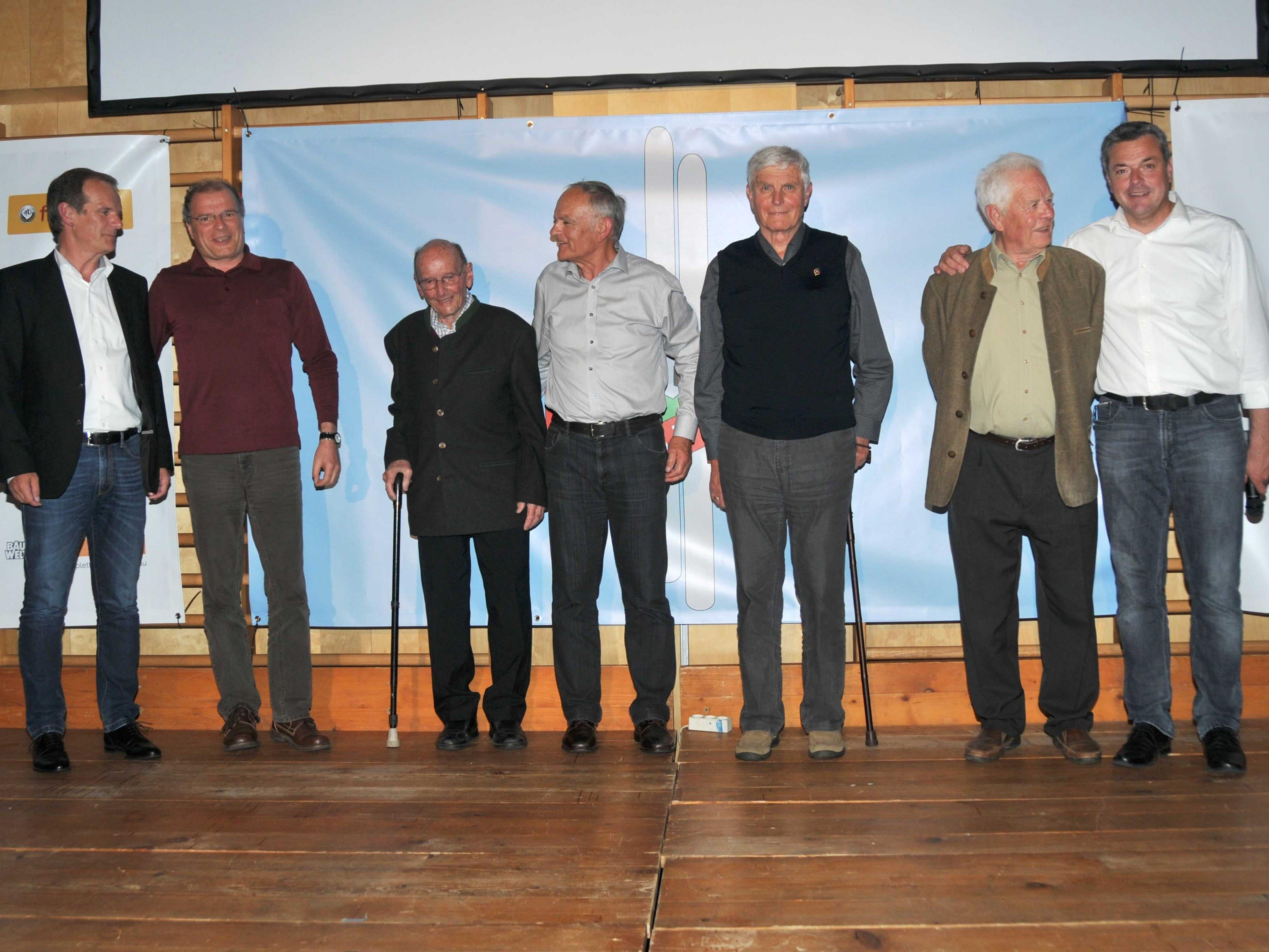 Alle Obmänner der letzten 60 Jahre