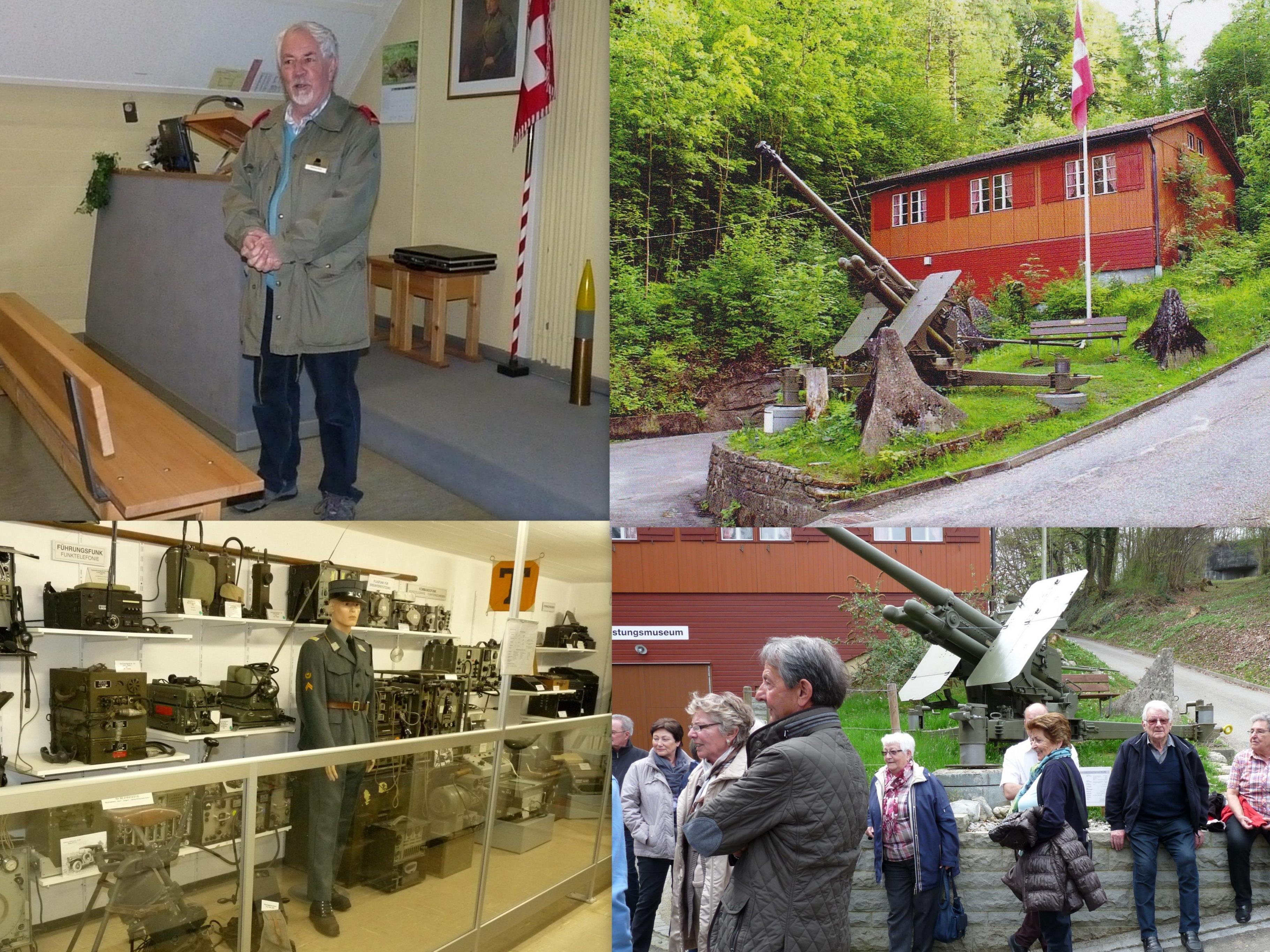 Das Festungsmuseum Heldsberg war sehr interessant