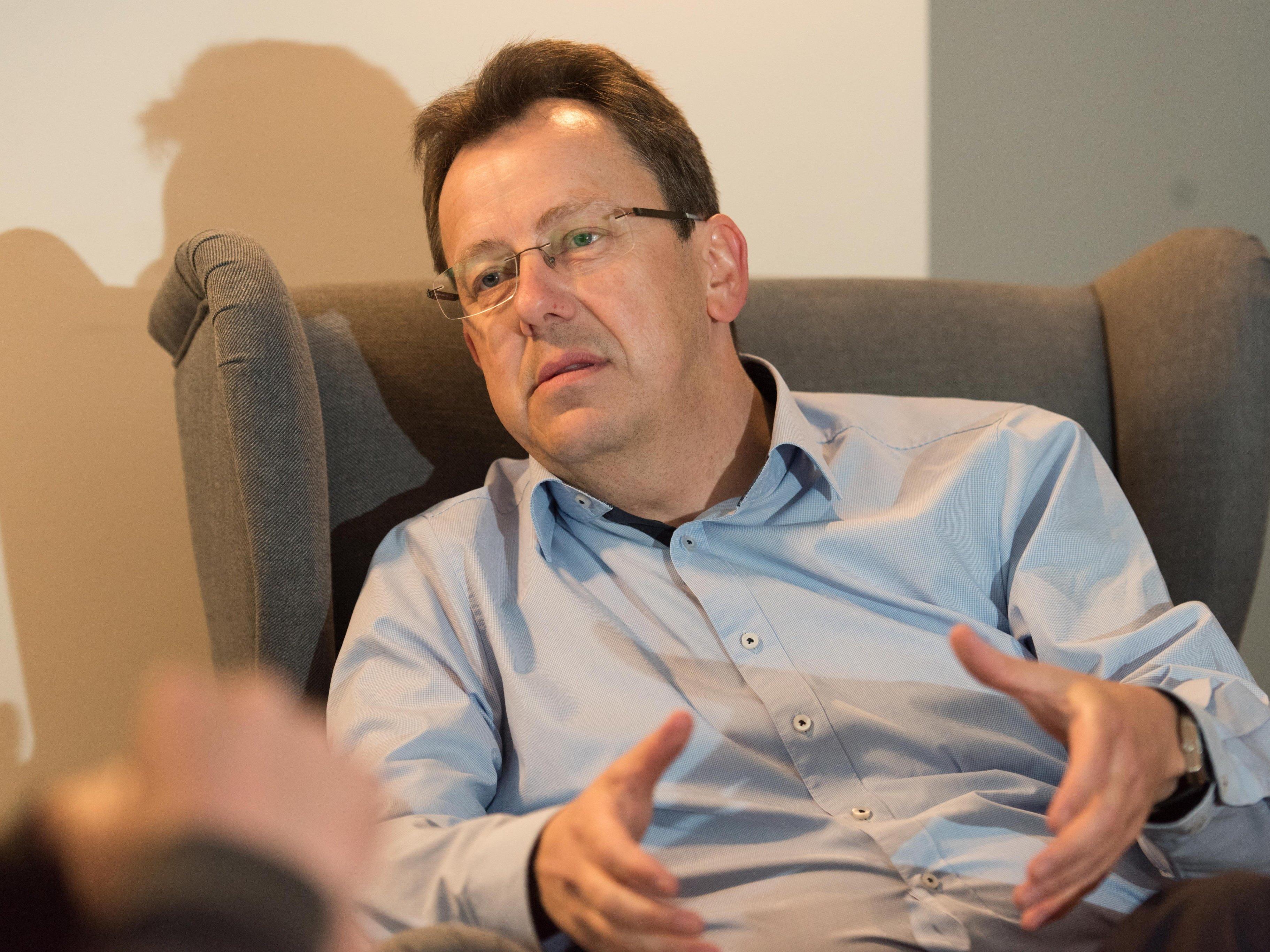 Wolfgang Frick ist überzeugt, dass die Gesellschaft eine Kehrtwende, weg von der Digitalisierung, vollziehen muss.