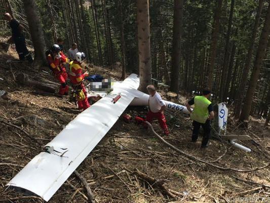Der Pilot kam ums Leben
