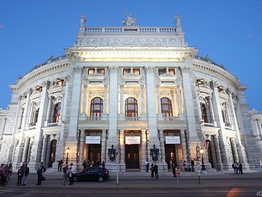 Aufregung am Burgtheater