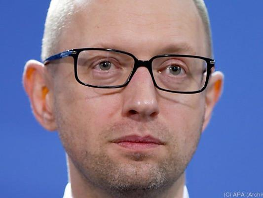 Arseni Jazenjuk hat seinen Rücktritt erklärt