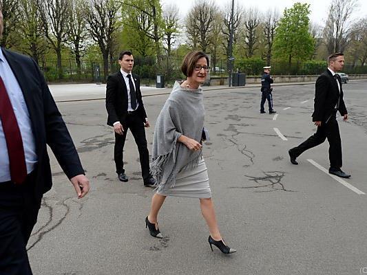Die Noch-Innenministerin kehrt Wien bald den Rücken
