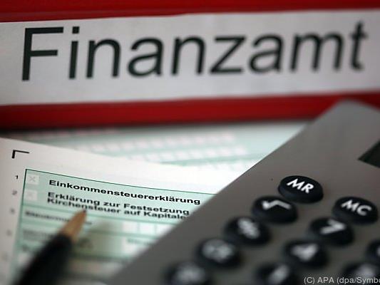 Das Finanzamt holt sich sein Geld