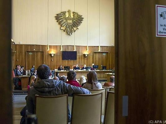 Verhandlungssaal im Wiener Straflandesgericht