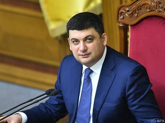 Wolodimir Groisman wird neuer Premier
