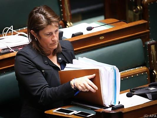 Jacqueline Galant will Rücktritt anbieten