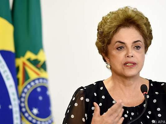 Für Dilma Rousseff wird es eng