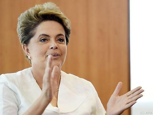 Über das Schicksal von Dilma Rousseff wird entschieden