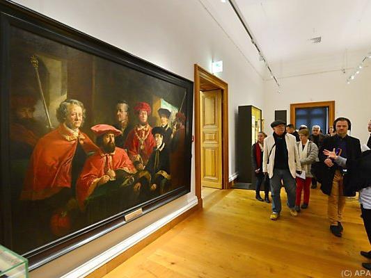 Die neue Ausstellung vermittelt ein Bild von Macht und Glanz