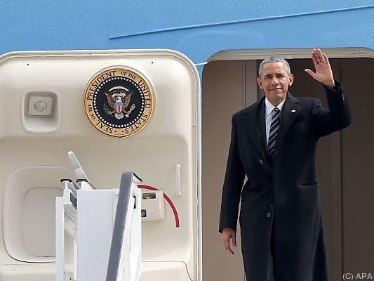 Obama ist in Deutschland angekommen