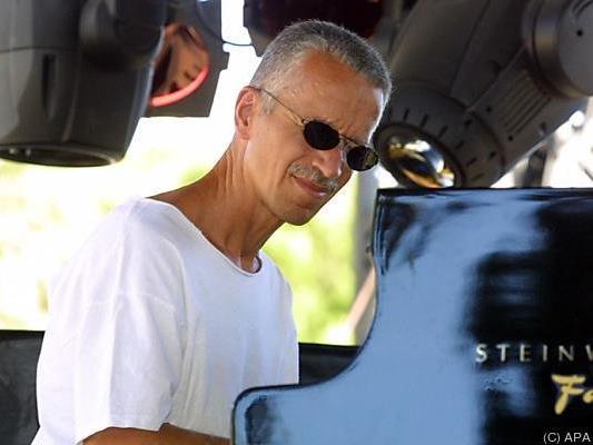 Jazzpianist Keith Jarrett am 9. Juli im Musikverein