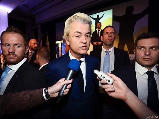 Wilders ist das Lachen vergangen