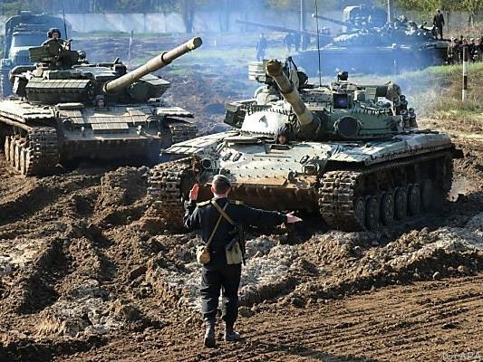 Die Panzer sollen über die Feiertage stillstehen