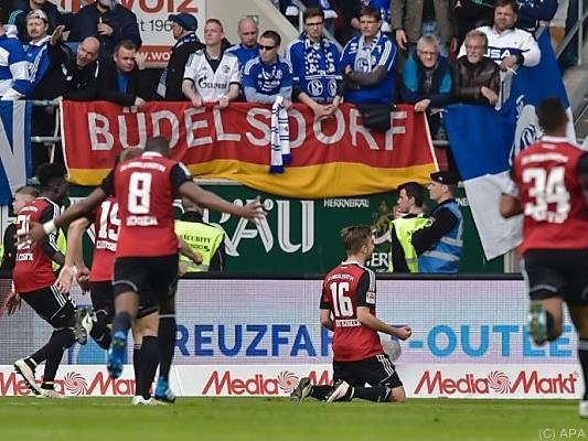 Hinterseer und Ingolstadt kaum mehr in Abstiegsgefahr