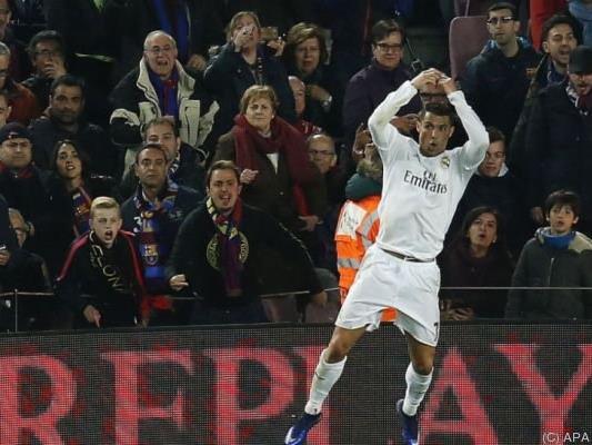 Und wieder einmal darf Ronaldo jubeln