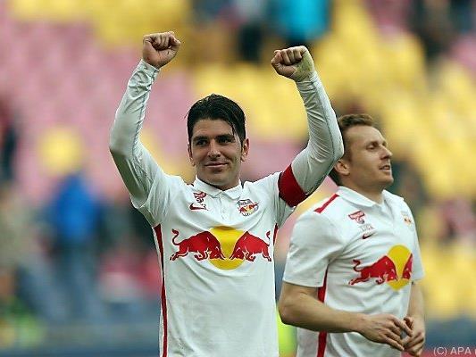Soriano schoss Salzburg einen großen Schritt näher zum Teller
