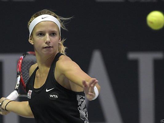 Haas gewann ihr Einzel und das Doppel mit Klemenschits