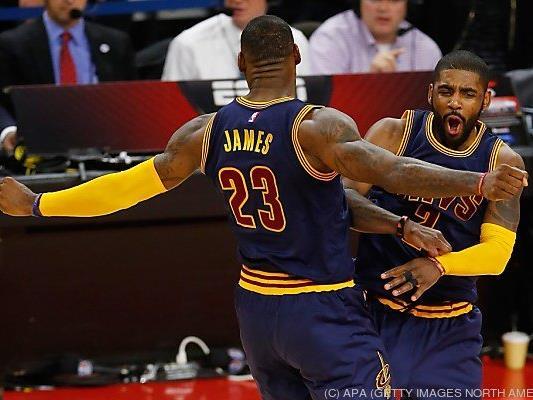 LeBron James führt Cleveland durchs Play Off
