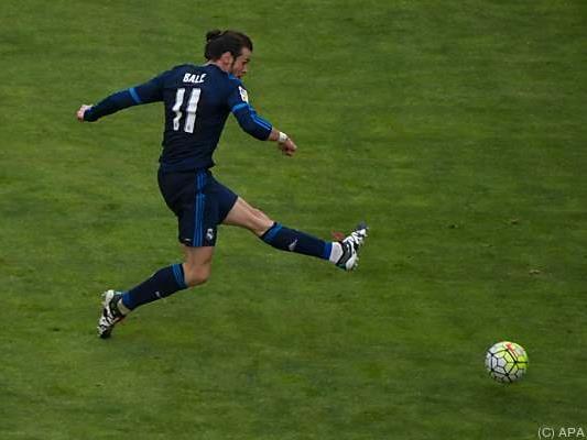 Superstar Gareth Bale traf zweimal für die Madrilenen