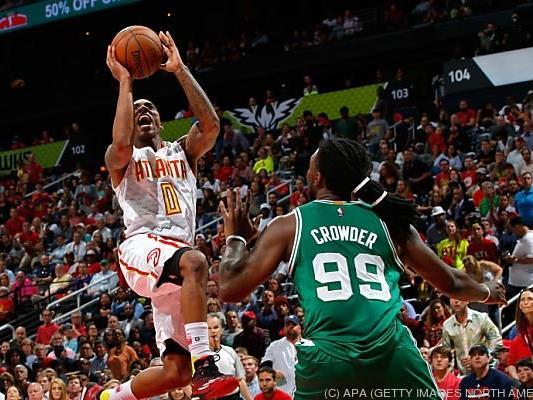 Atlanta feierte einen klaren 110:83-Heimerfolg über die Boston Celtics
