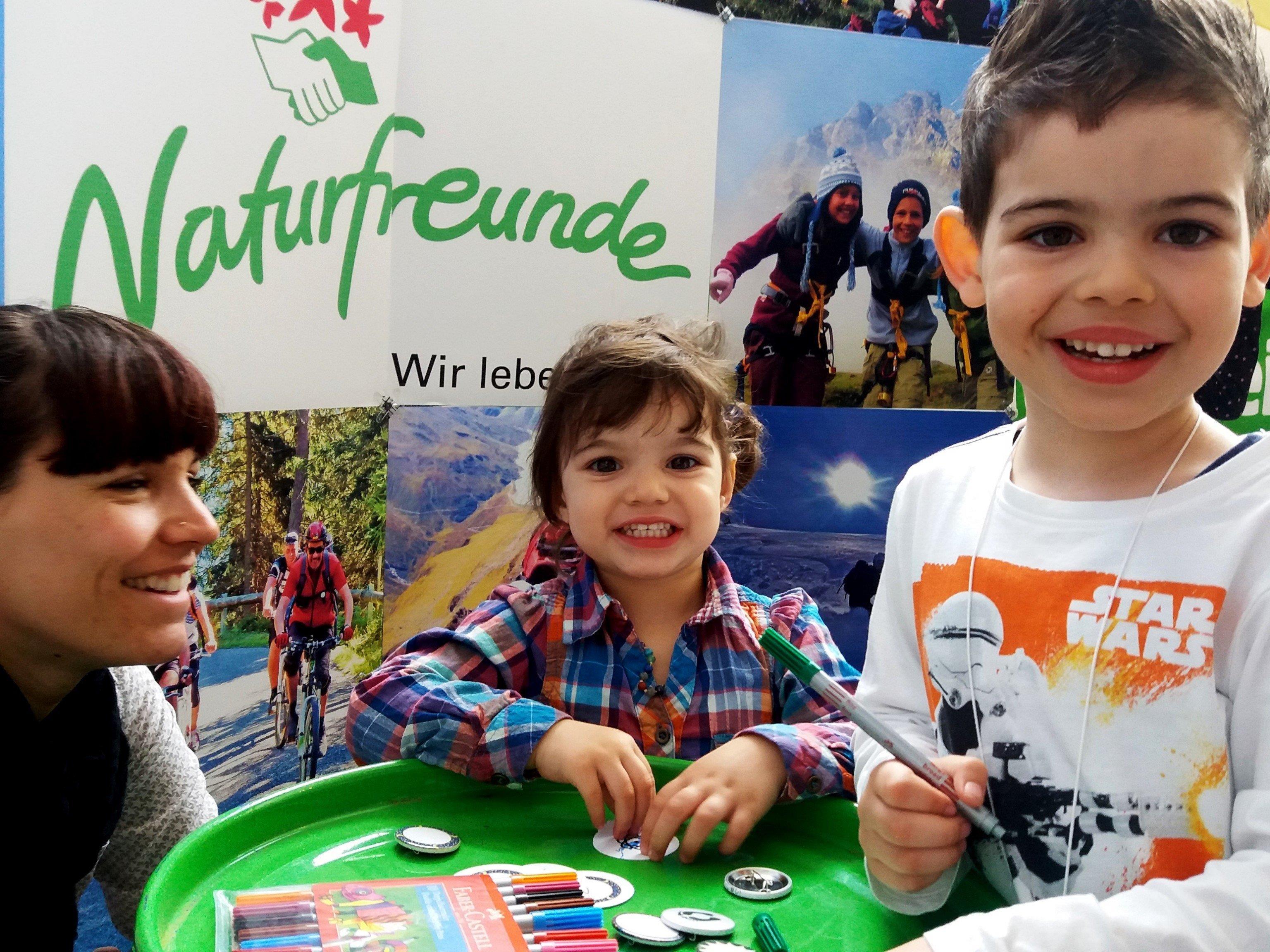 Kinder- und Jugendtreff bei den Naturfreunden Vorarlberg.