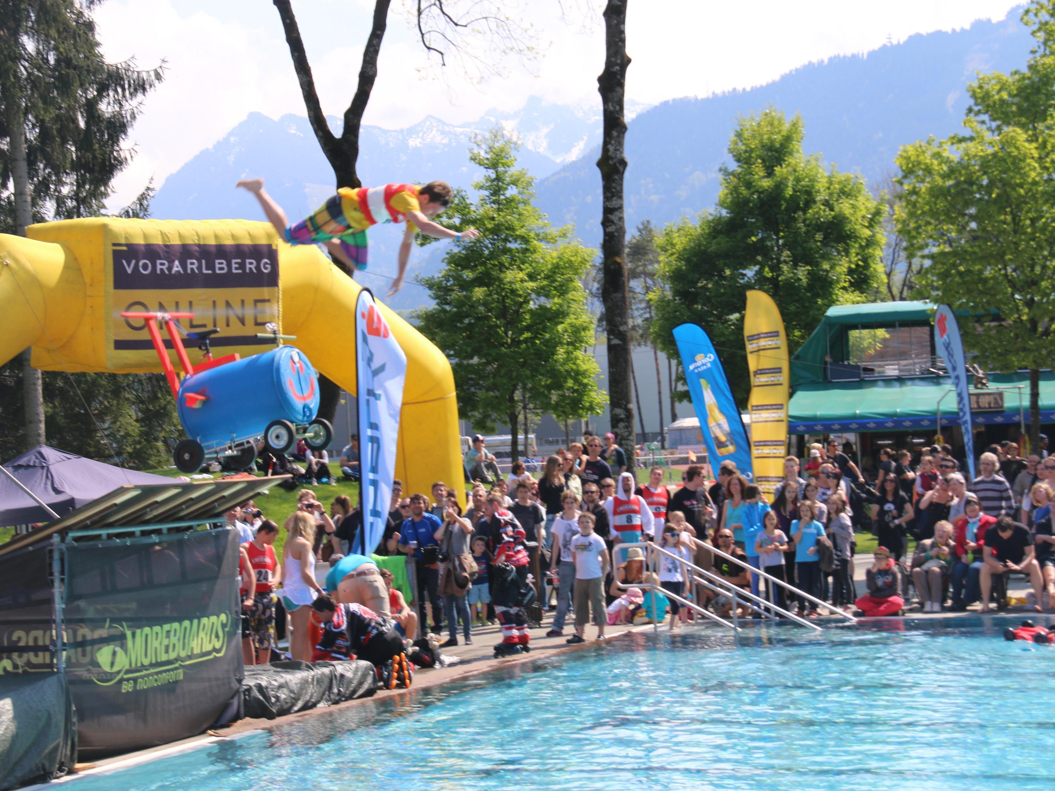 Kommenden Samstag wird die Badesaison in Gisingen furios gestartet.