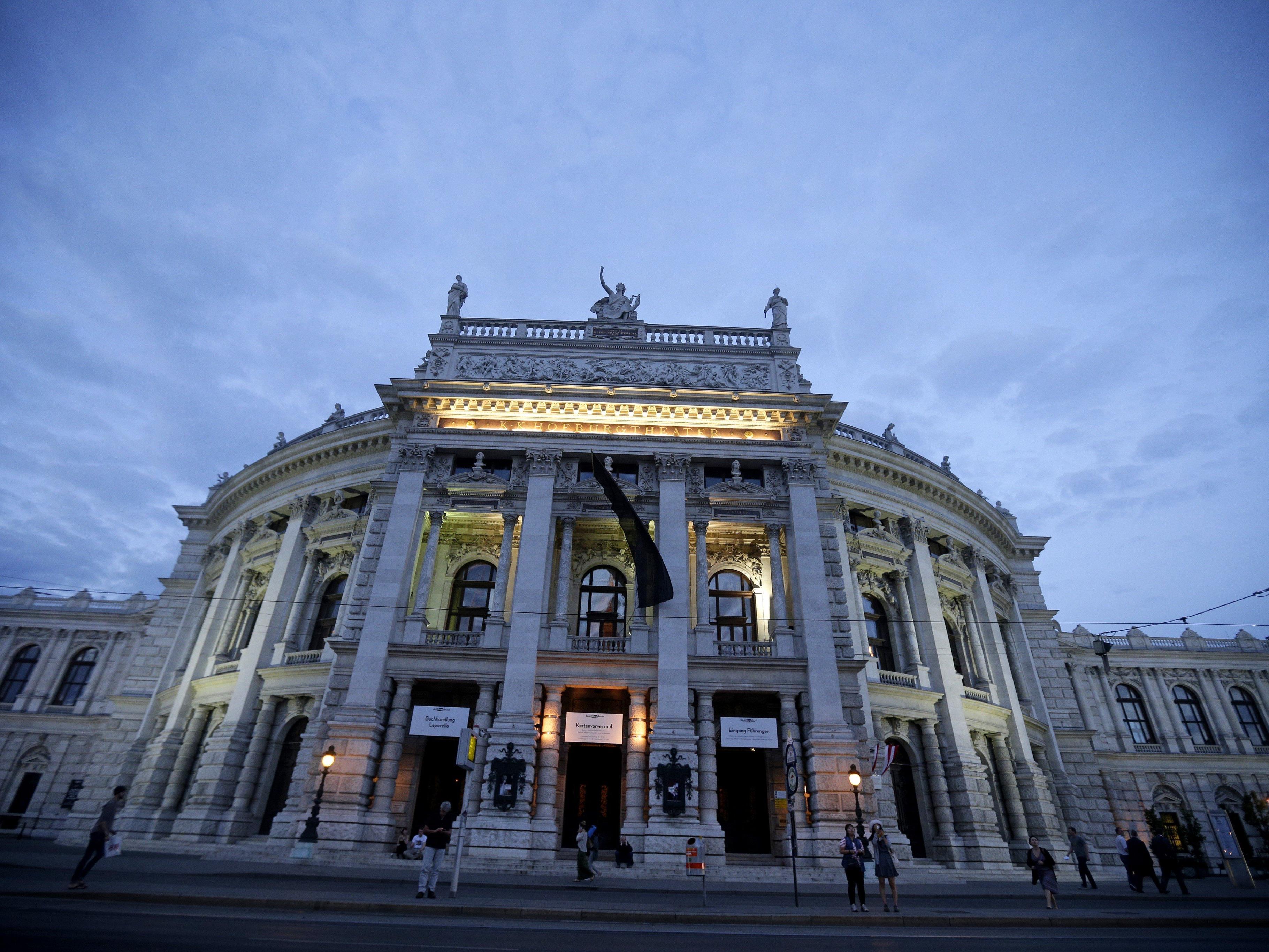 Das Wiener Burgtheater.