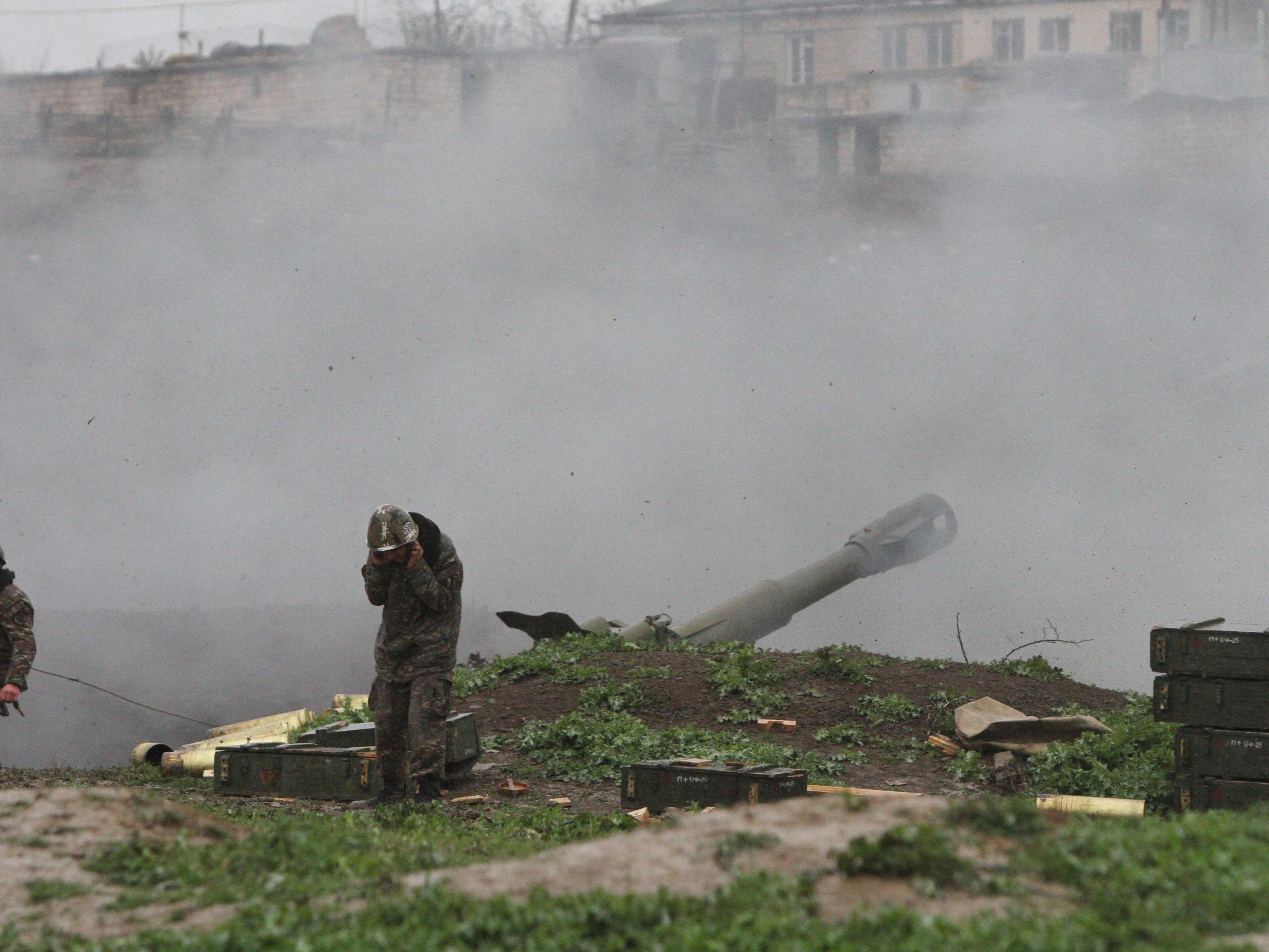 Regierung in Aserbaidschan bestätigte Behördenangaben aus Berg-Karabach.