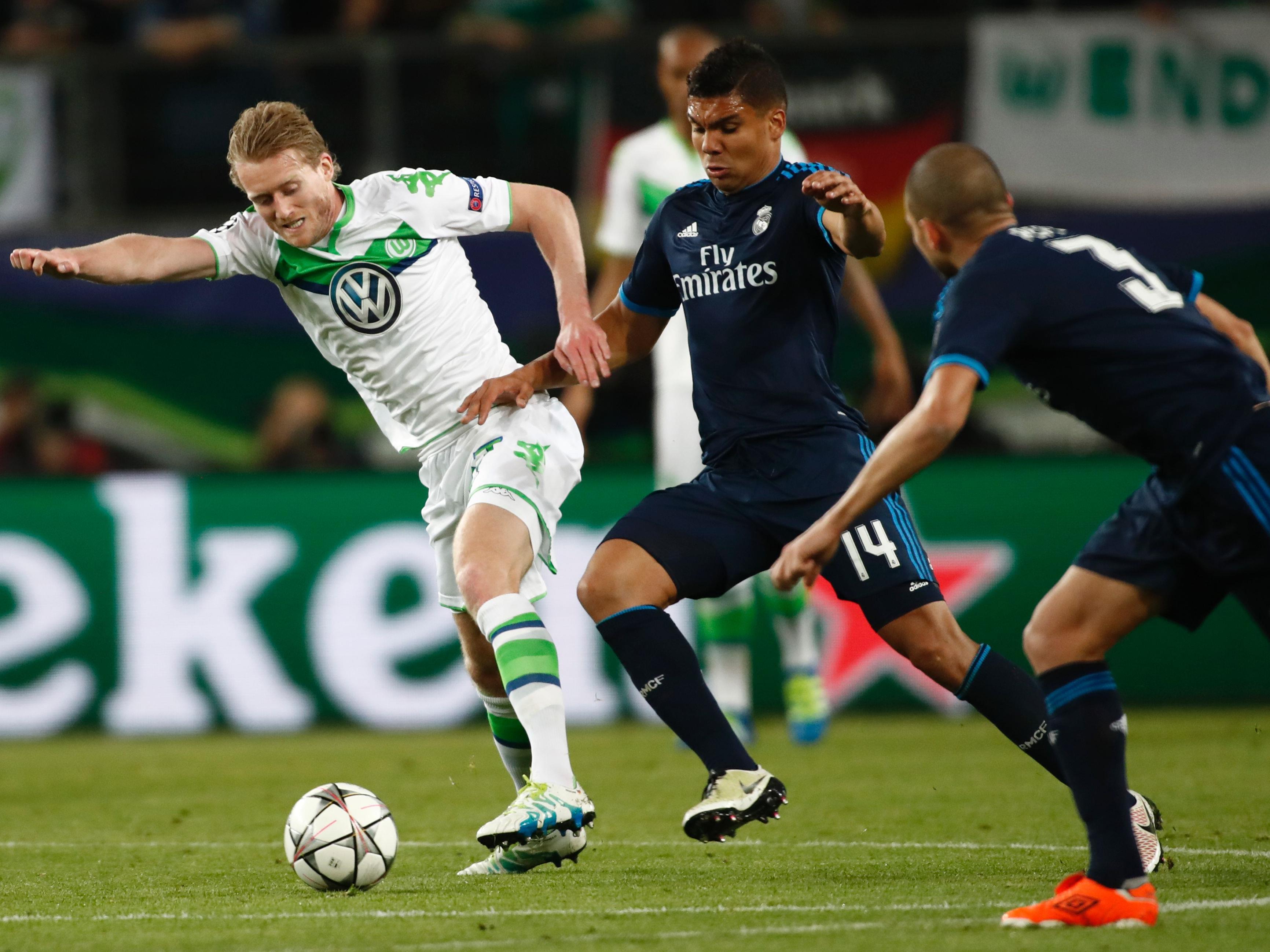 Im Hinspiel in Wolfsburg setzte es für Real Madrid eine überraschende 0:2-Niederlage.