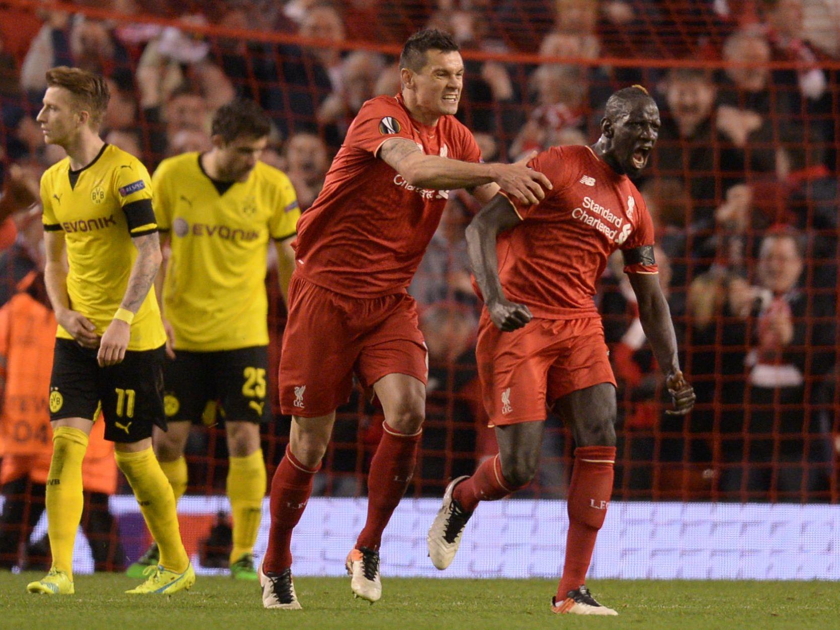 Liverpool jubelte über einen sensationellen Sieg gegen Dortmund.