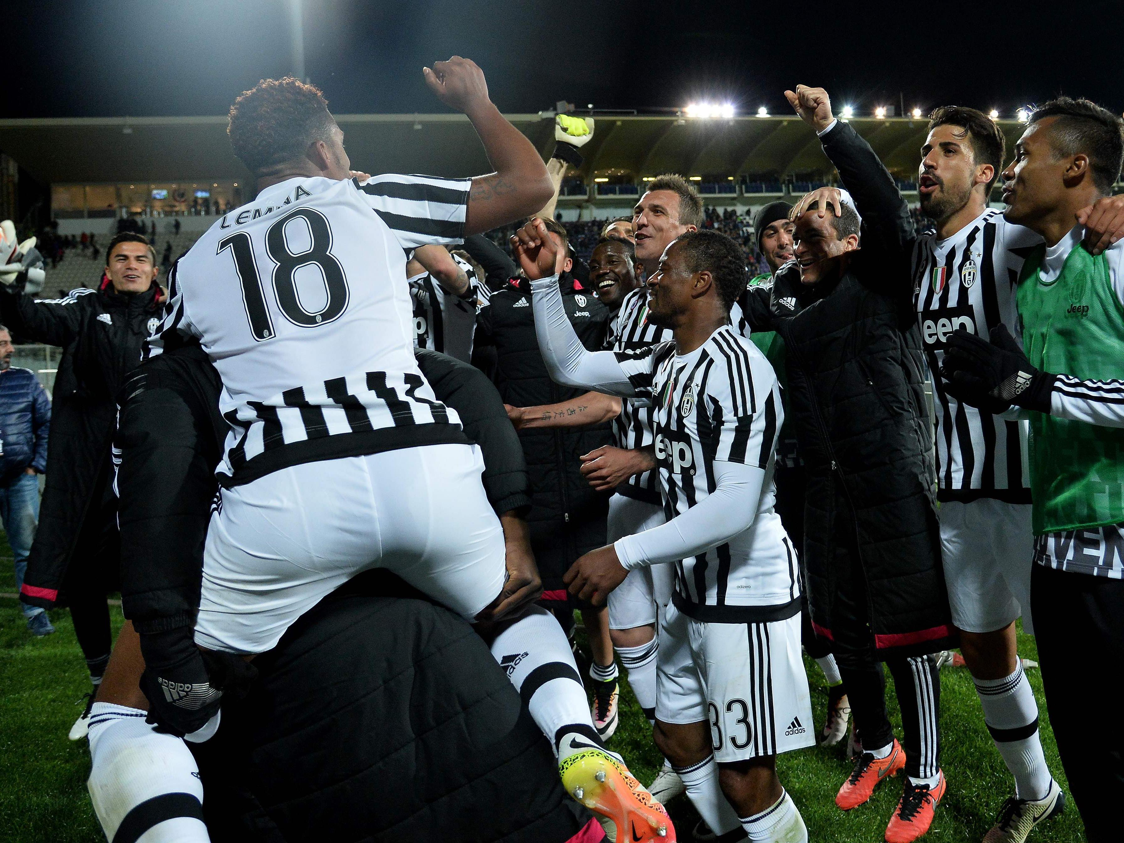 """""""Juve"""" nicht mehr von der Spitze zu verdrängen."""