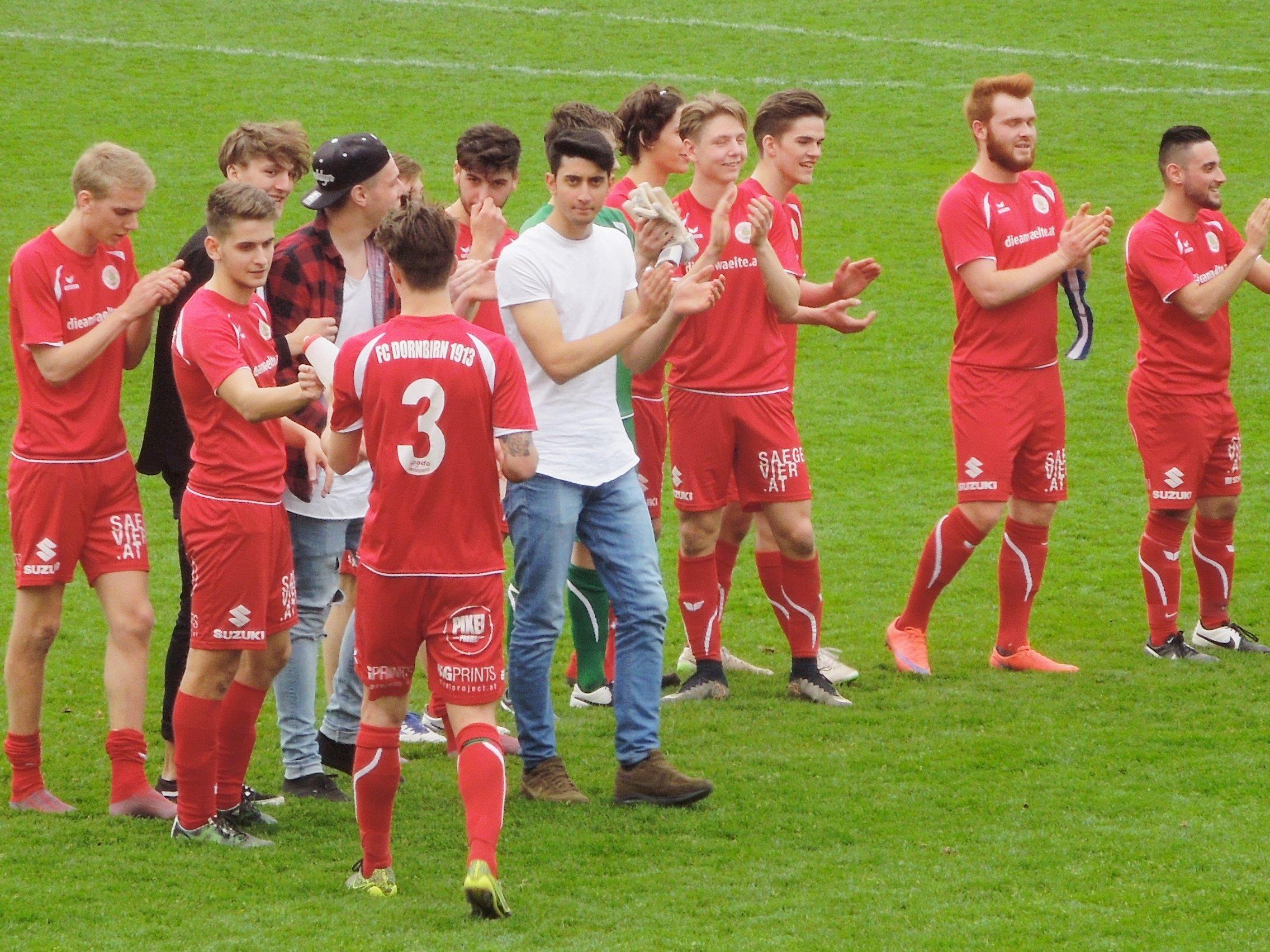 Auch beim Heimspiel gegen Hohenweiler am vergangenen Sonntag durften wieder die FCD Juniors jubeln.