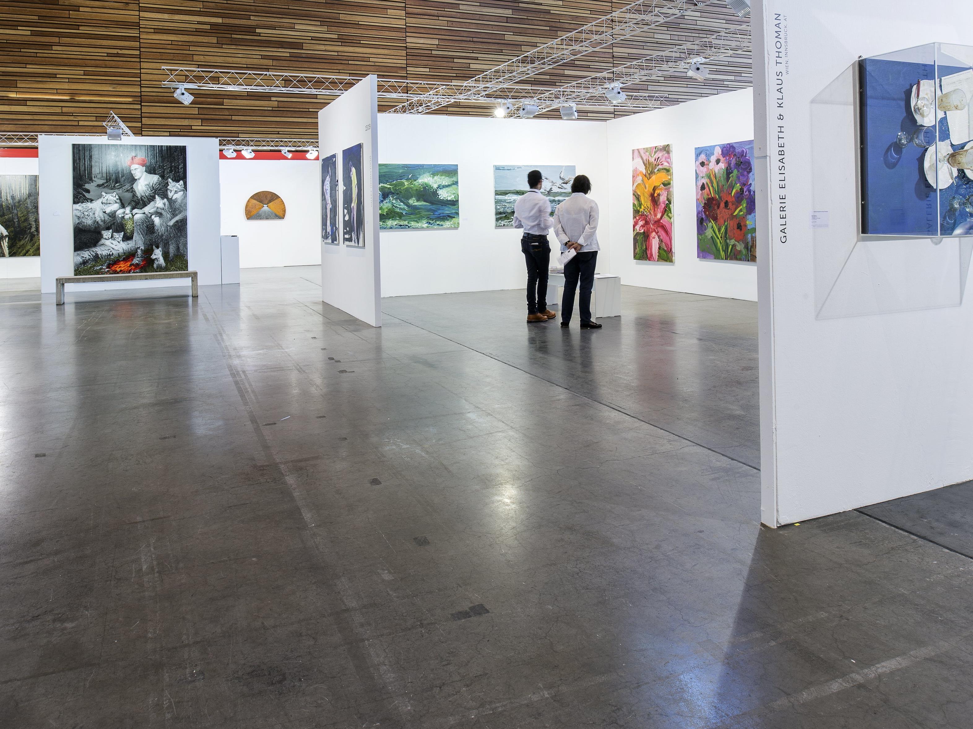 Rund 60 Galerien präsentieren bei der 16. Art Bodensee vom 8. bis 10 Juli  zeitgenössische Kunst.