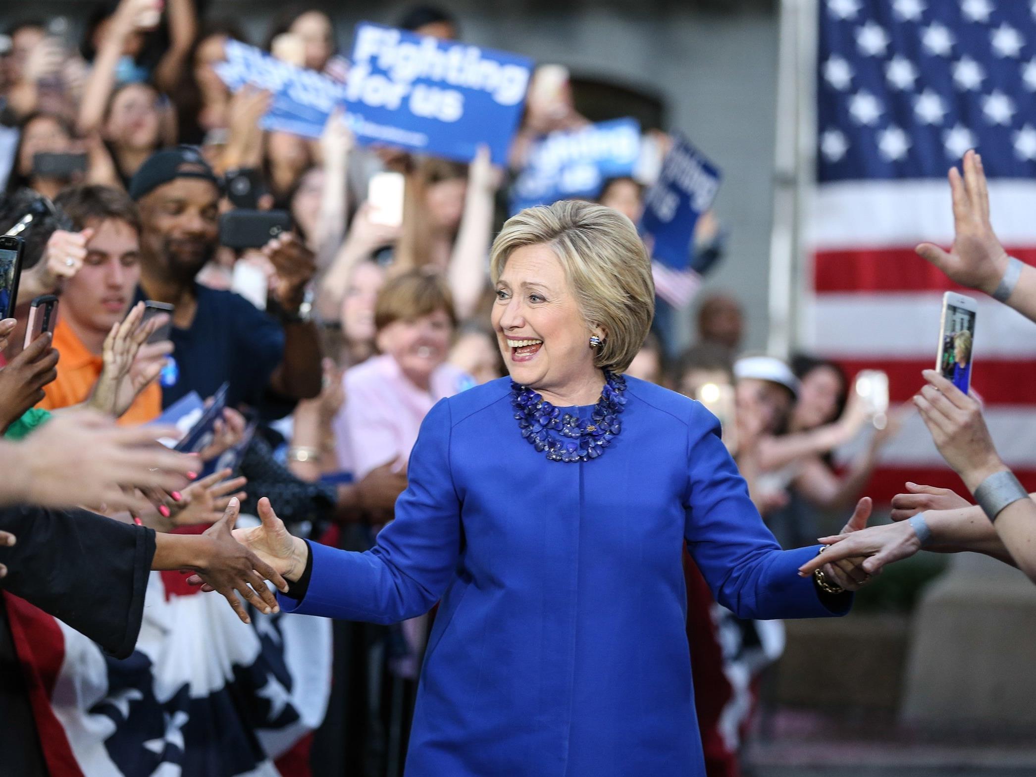 Hillary Clinton möchte 50 Prozent des Kabinetts mit Frauen besetzen.