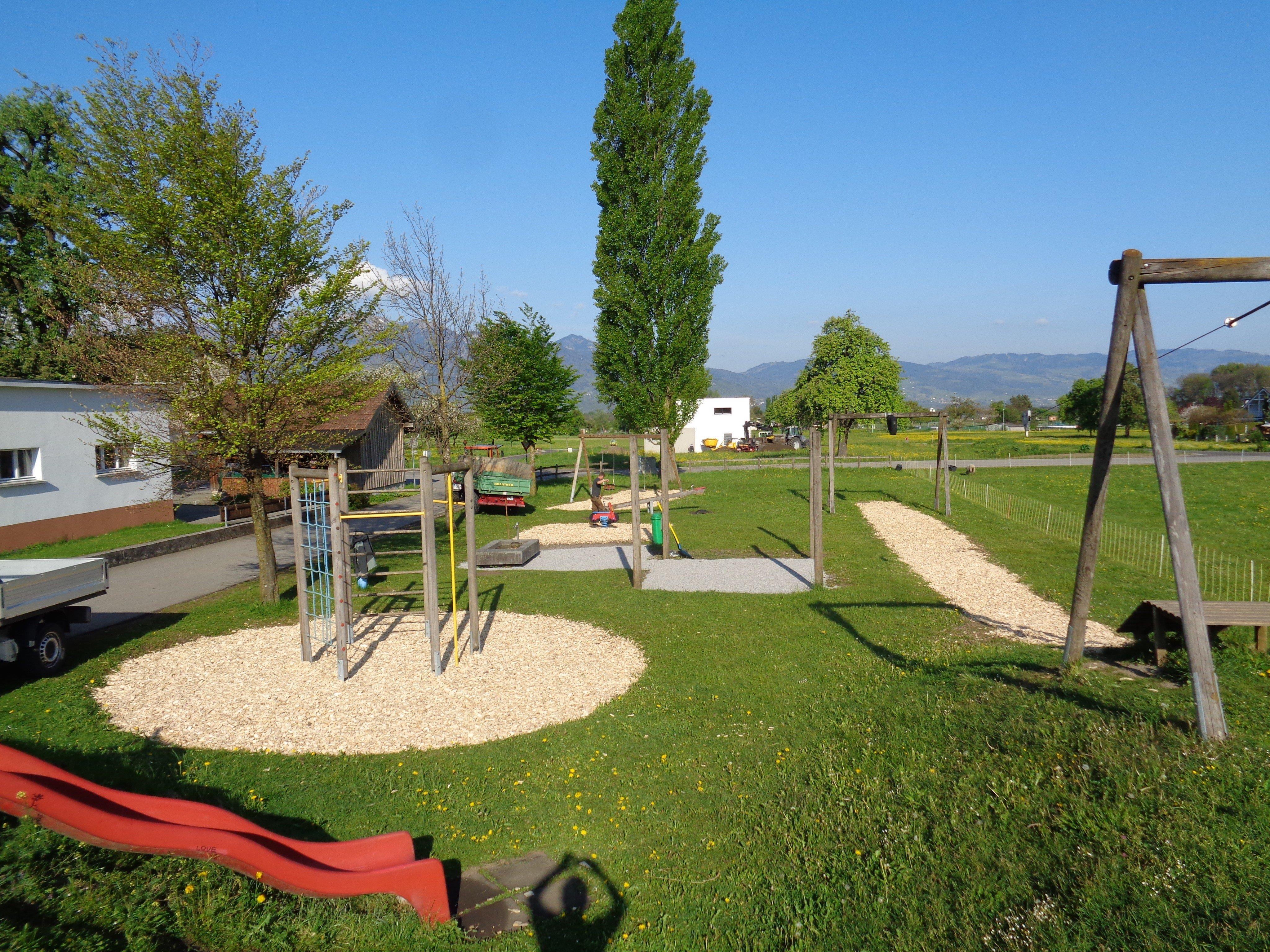 Die Gemeinde Röthis plant zumindest die teilweise Umsetzung des Spielraumkonzeptes