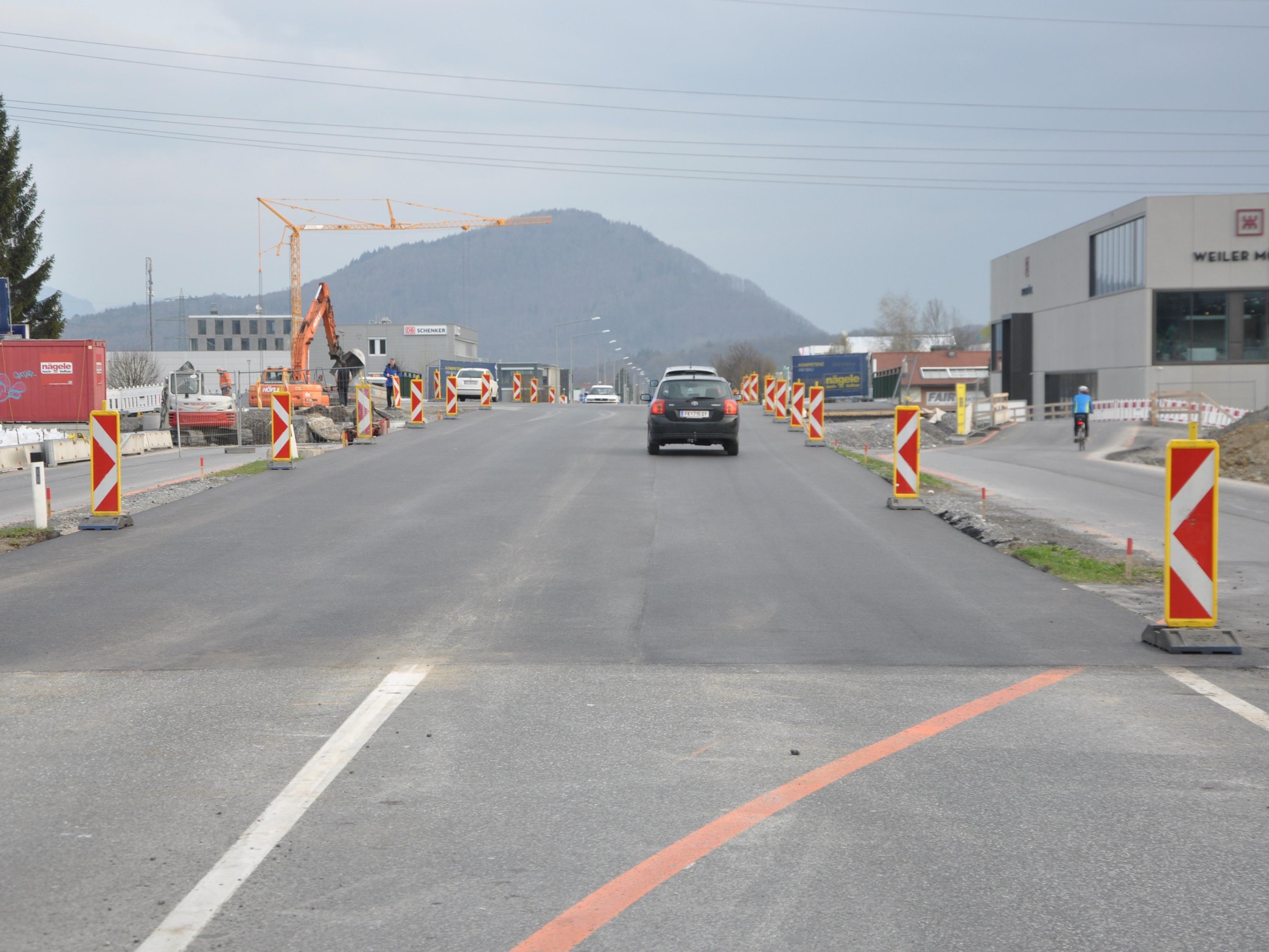Die neu errichtete Ratzbachbrücke wurde für den Verkehr freigegeben