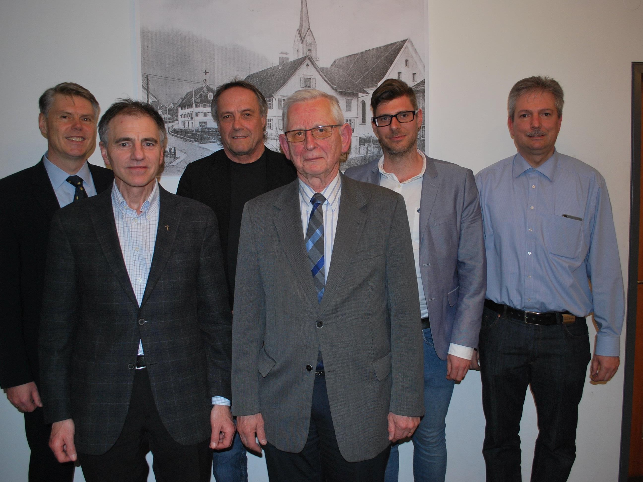 Werner Matt, Gerold Reichart, Peter Alge, Klaus Fohgrub, Michael Fliri, Gerald Bischof