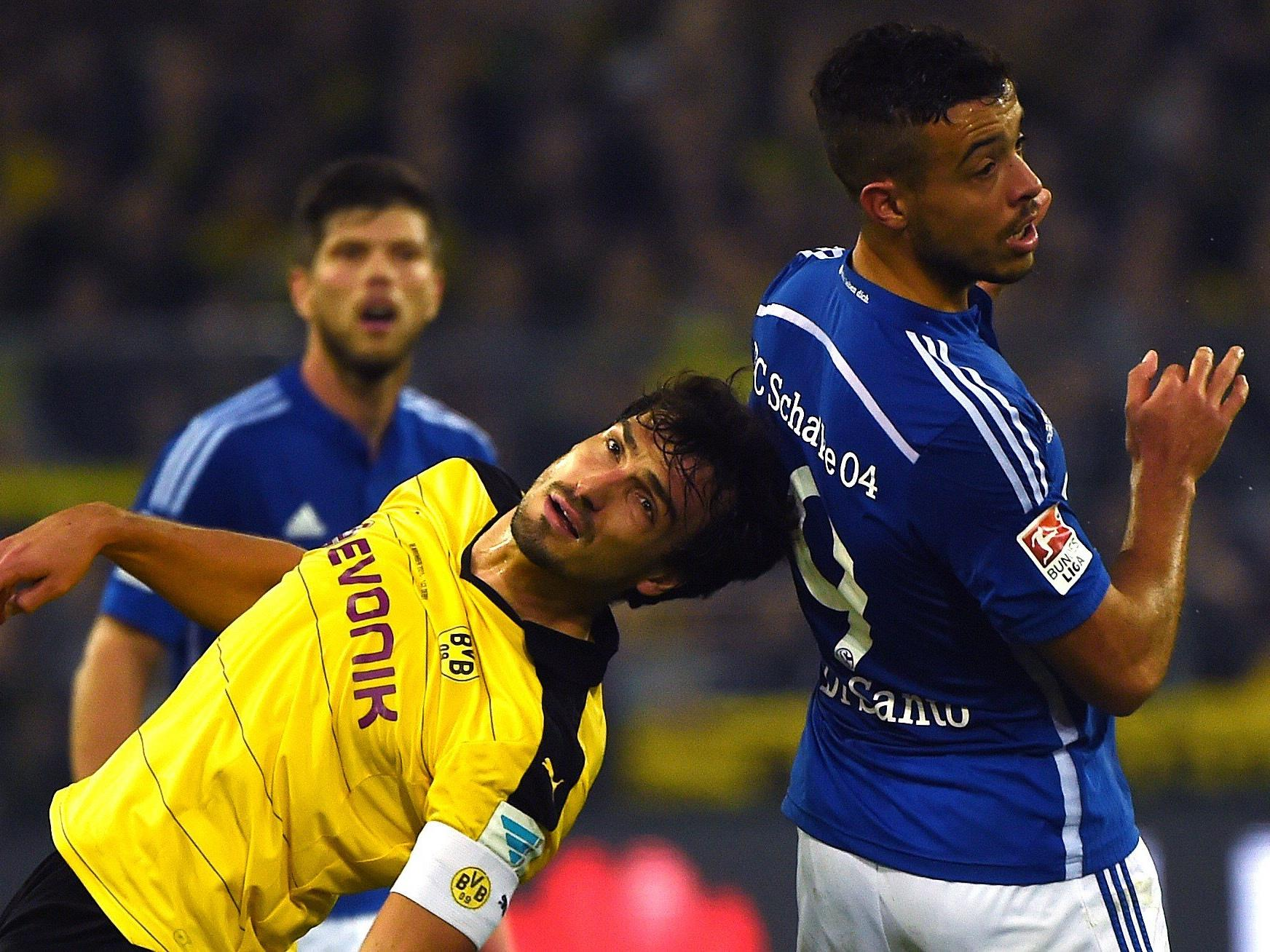 Am Sonntag kommt es in der Schalke-Arena zum Revierderby.