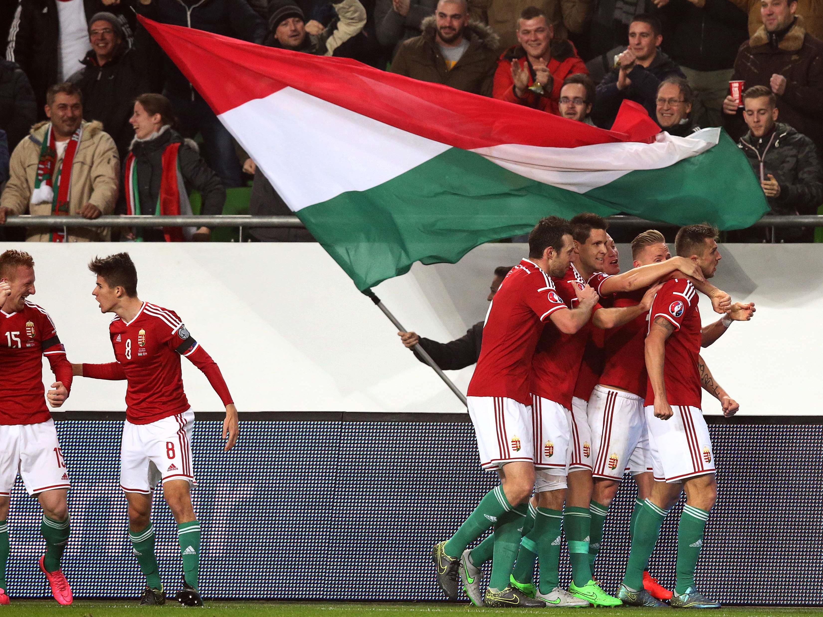 Die Ungarn kommen zum Kondition schinden nach Österreich.