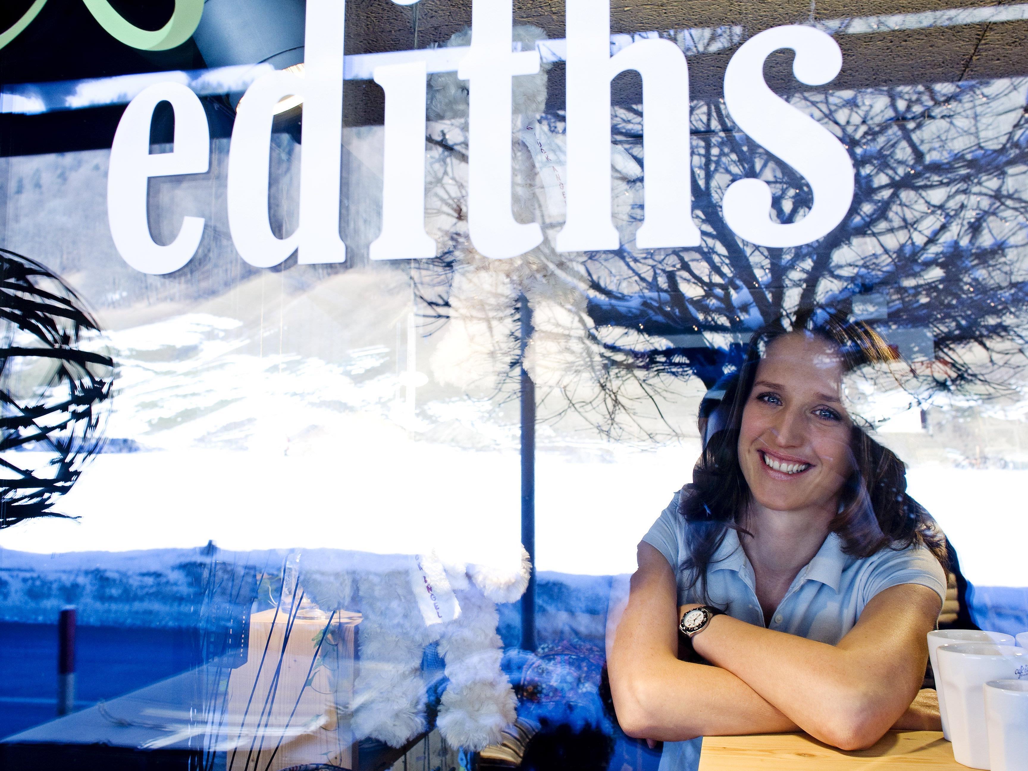 Edith Klinger erfüllte sich ihren Traum vom eigenen Laden.
