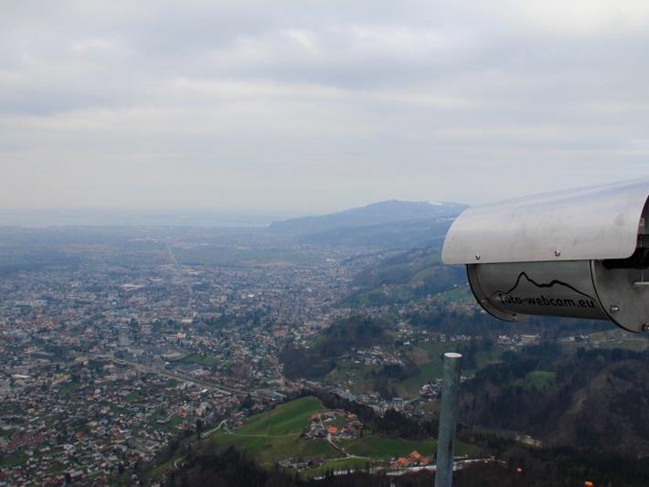 Die neue Foto-Webcam liefert hochauflösende Bilder vom Karren mit Blick nach Nordwesten zum Bodensee.