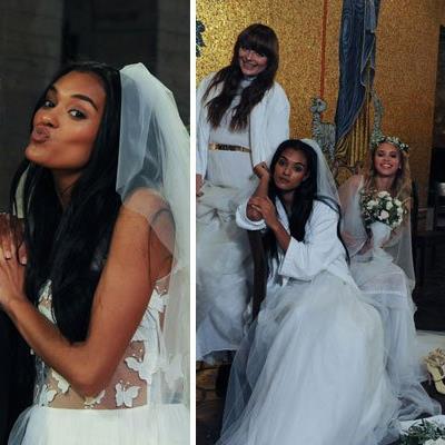 Kann sich Jasmin im Hochzeitskleid durchsetzen?