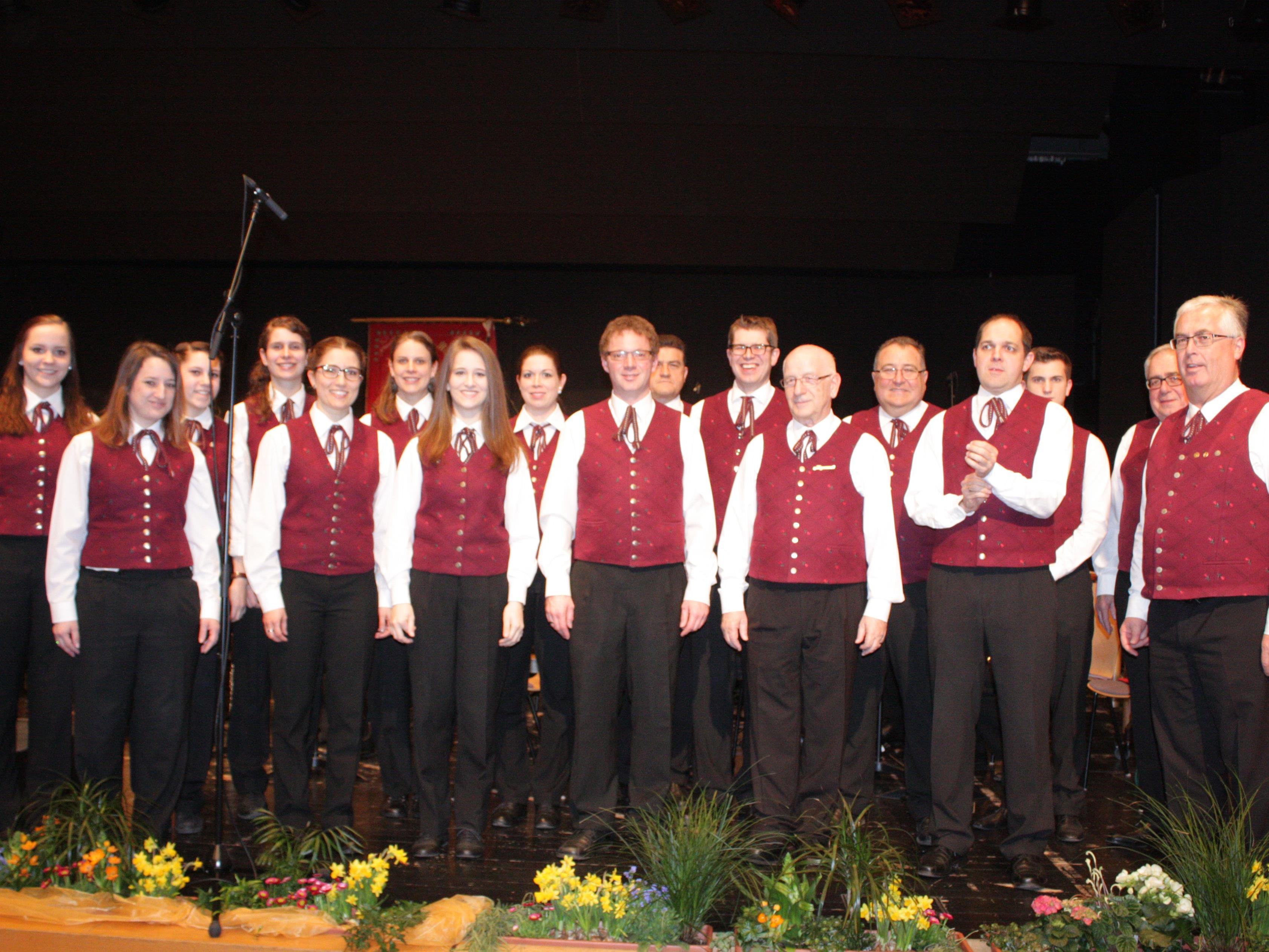 Das Frühjahreskonzert des MV Concordia Lustenau begeisterte das Publikum vollends.