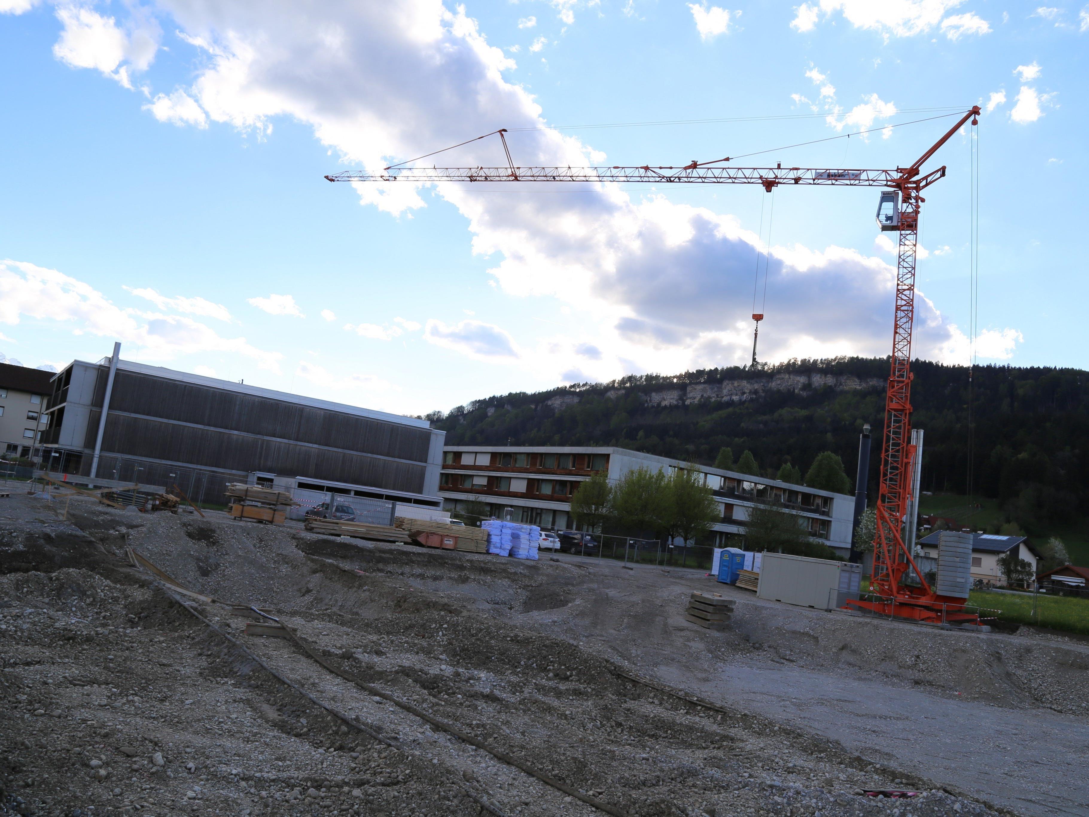 Kürzlich erfolgte der Baustart des Pilotprojekts neben dem Haus Tosters in Feldkirch.