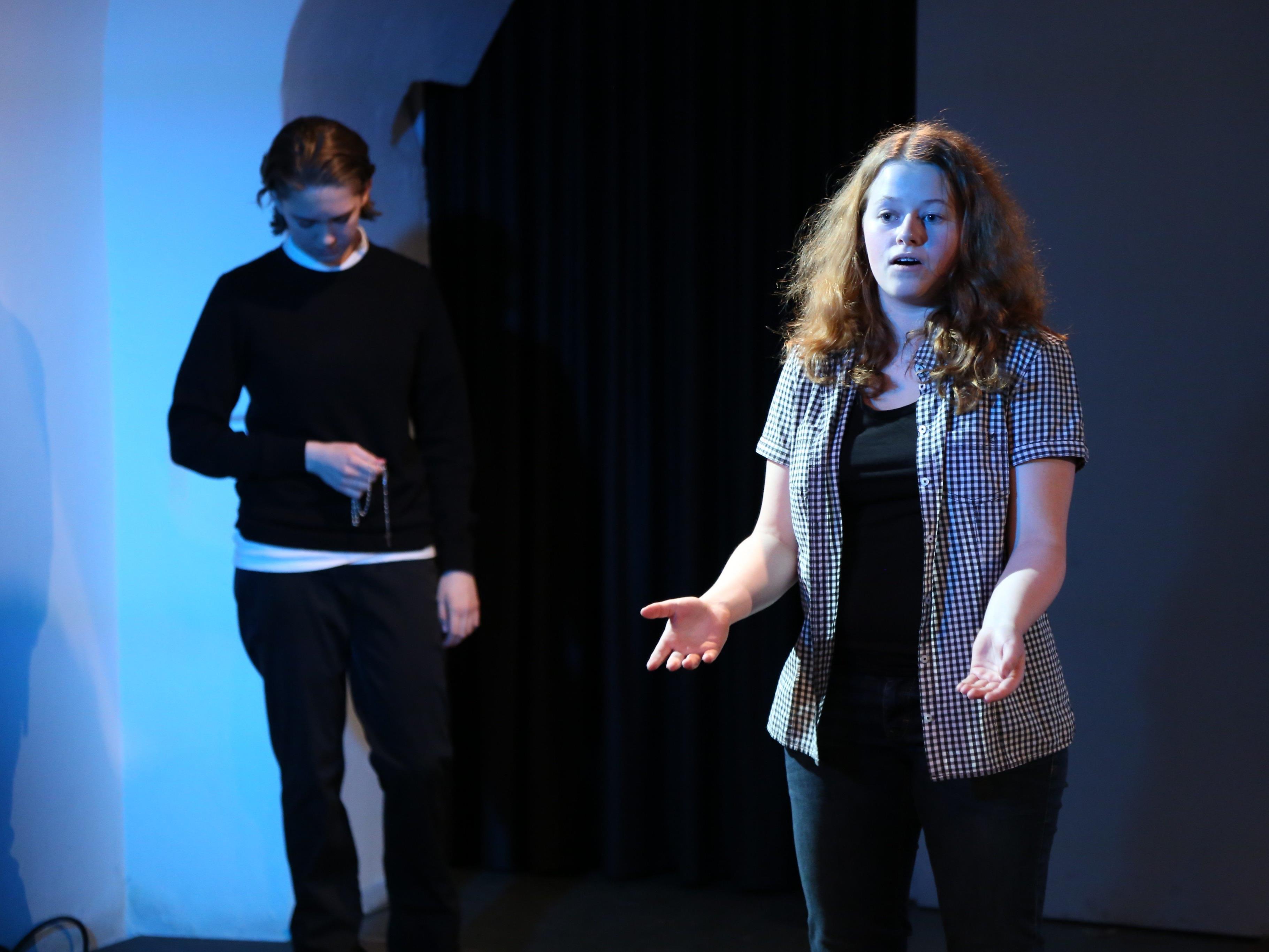 Die Schüler zeigten viel Talent auf der Bühne des Theater am Saumarkts.