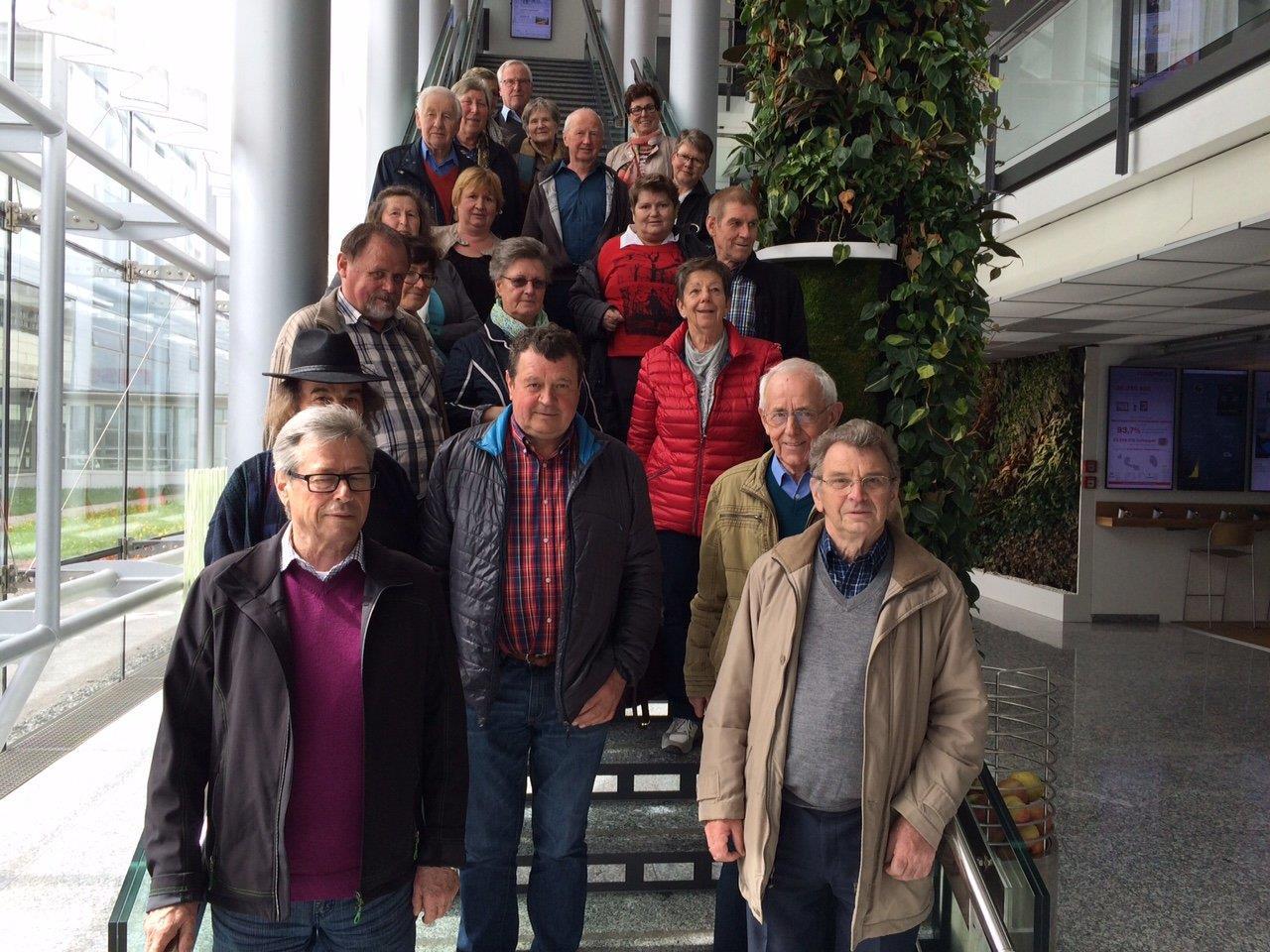 Bucher Seniorenausflug zu Russmedia nach Schwarzach.
