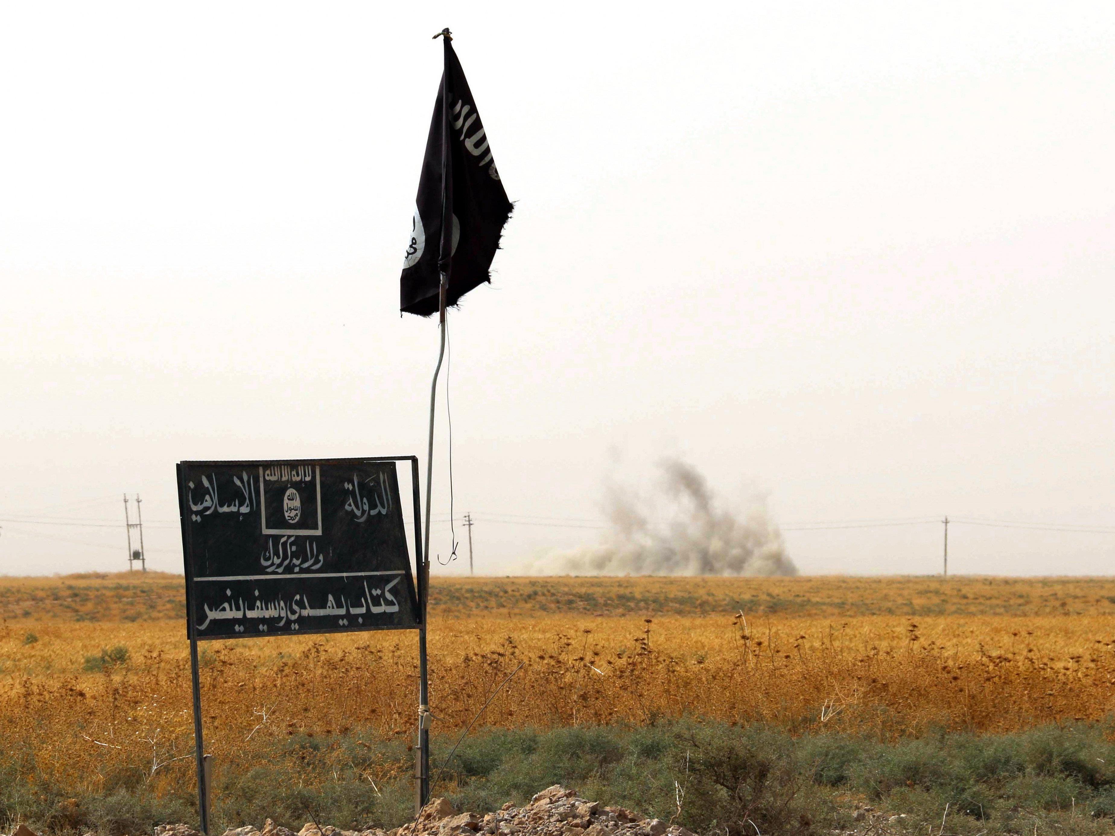 """Müller: Als Terrororganisation werde der sogenannte """"Islamische Staat"""" (IS) vollständig nur schwer zu besiegen sein."""