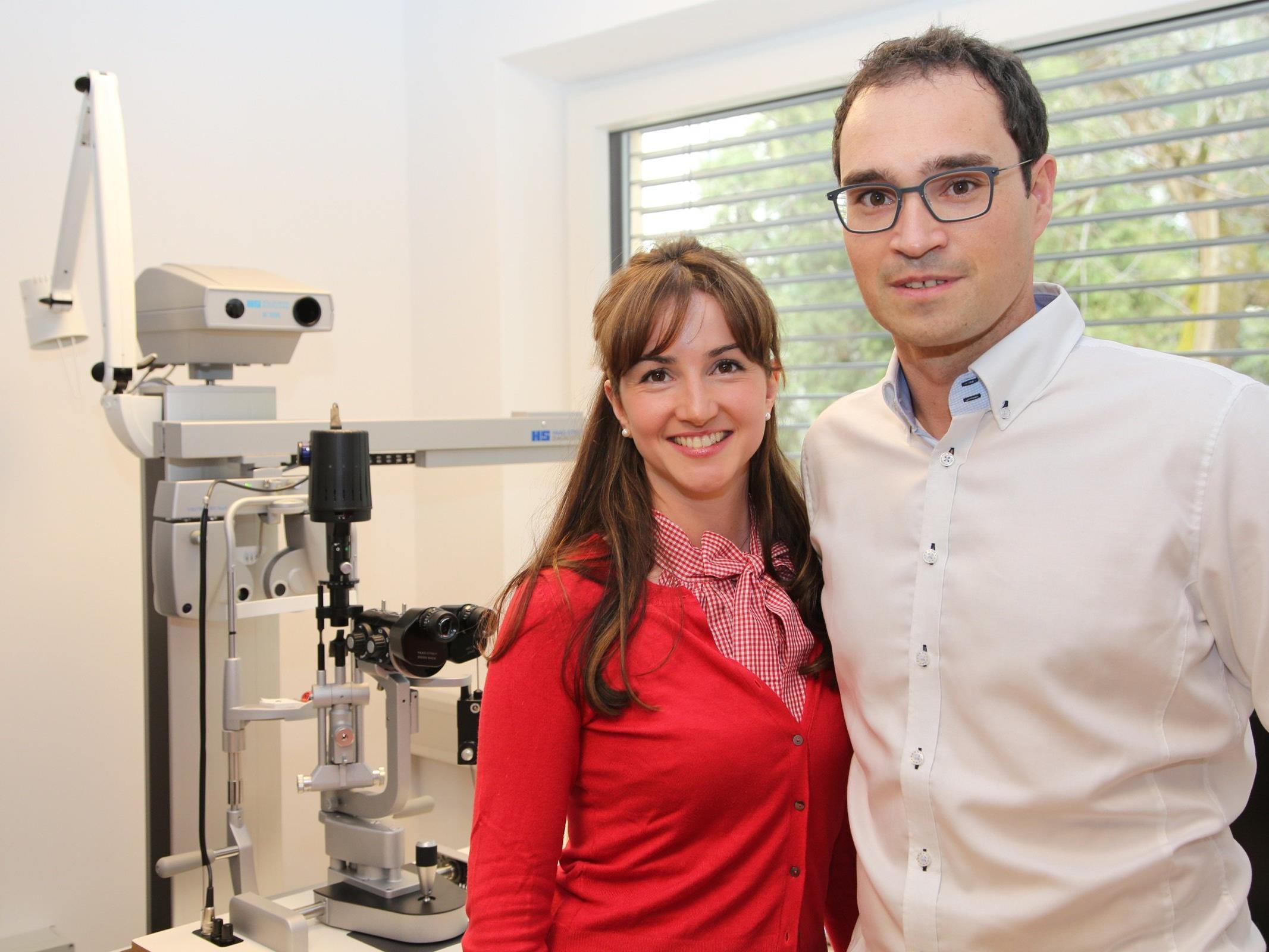 Dr. Markus Thaler mit seiner Lebenspartnerin Sonja Gächter.
