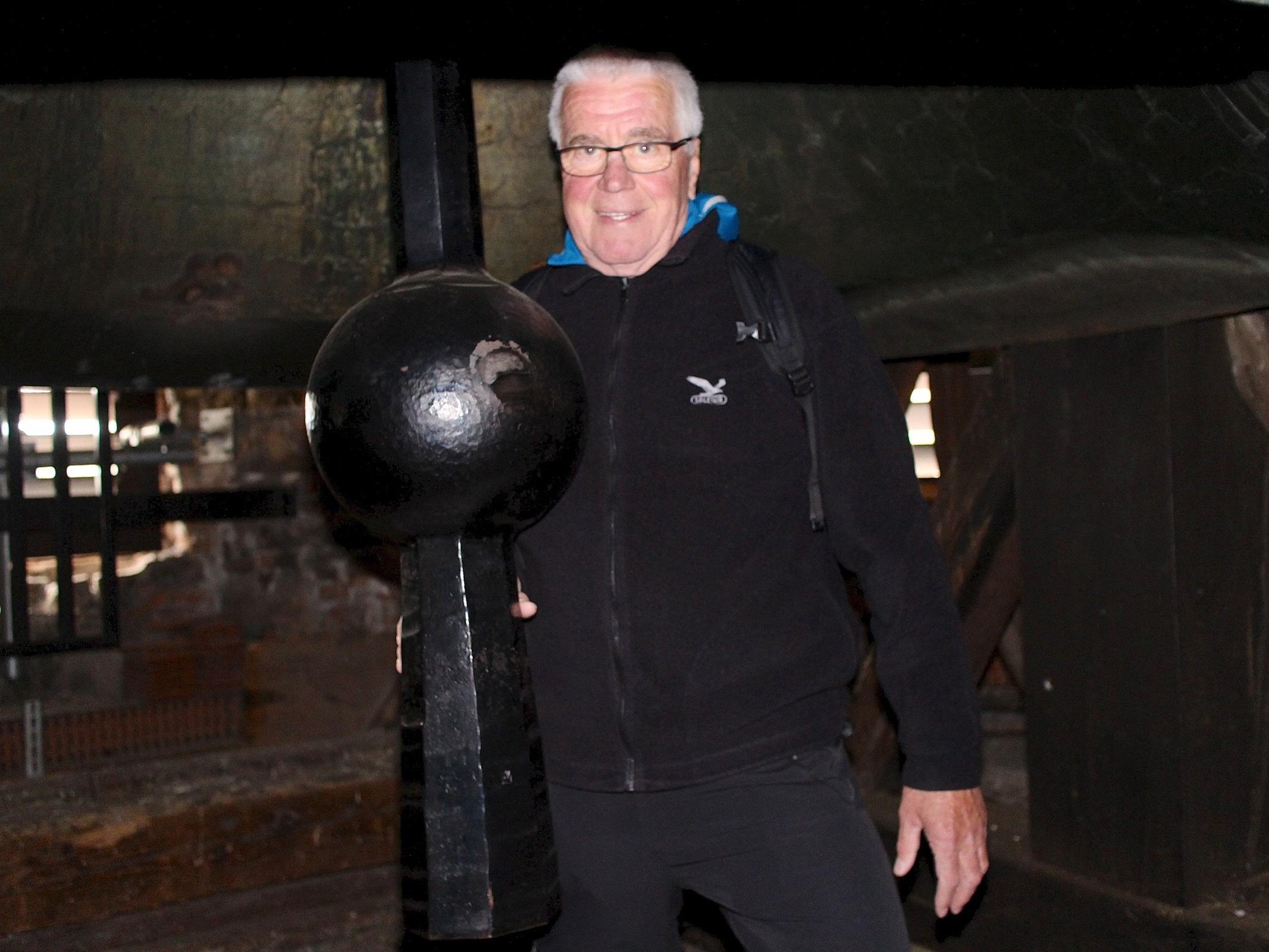Den heutigen Glöckner Fritz Koroschitz faszinierte schon als Bub das Schwingen des Klöppels im Katzenturm.